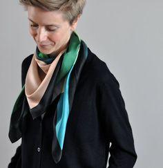 "Silk scarf ""Berlin"" – Haferkorn & Sauerbrey"