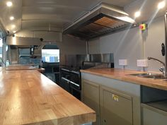 Our clients vsions and our expertise combined. A woodburning pizza oven in a van, mirrored walls, oak worktops, a fully equipped mobile bar. Take a look.
