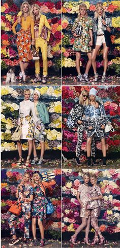 Editorial [Bloom Town Media: W Magazine, March 2012 Stylist: Giovanna Battaglia Photographer: Sharif Hamza] A celebration of summer collection - with so many colours and details coming together in one frame, it takes meticulous planning and a thoughtful overview to create this beautiful mess.