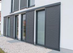 Okiennice przesuwne | PERGOLA TARASOWA Roller Shutters, Fence, Facade, Blinds, Garage Doors, Exterior, Curtains, Pergola, Outdoor Decor