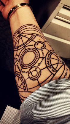 circulo de transmutacion tattoo - Buscar con Google