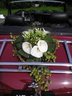 car flowers