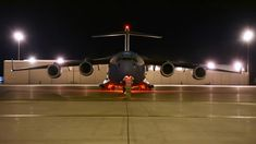 Four C-17 Globemaster III aircraft from Travis Air Force Base, CA. arrived at Joint Base Lewis-McChord in the late and early hours of Aug. 19-20, 2020  🎬Film Credits: Defense Flash News C 17 Globemaster Iii, Plane, Air Force, Fighter Jets, Aircraft, Film, News, Videos, Amazing