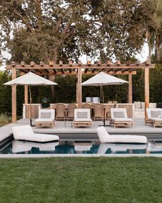 Client Me Myself And I Can't Make Up My Mind // Reveal, Pt. 6 | All Sorts Of Outdoor Dining Chairs, Outdoor Furniture Sets, Outdoor Living, Outdoor Lounge, Outdoor Sconces, Outdoor Decor, Outdoor Pergola, Outdoor Rooms, Living Pool