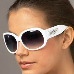 Juicy Couture Jasmine Signture White Sunglasses
