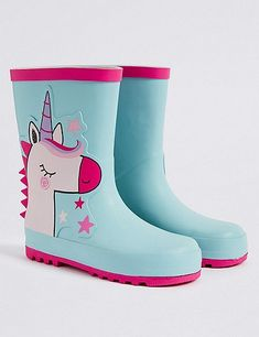 Kids' Unicorn Wellie