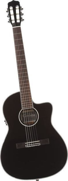 Cordoba Fusion 14 Jet Acoustic Electric Nylon String Classical Guitar Black (via Musician's Friend) Fender Guitars, Bass Guitars, Electric Guitars, Guitar Pics, Classical Guitar, Acoustic Guitar, Music Instruments, Jet, Reyes