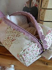 lace zipper - another bag