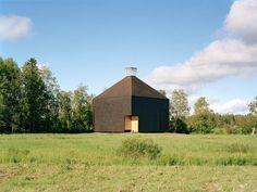 Krsmki church designed by Office for Peripheral Architecture; Kärsämäki / Finland; 2004
