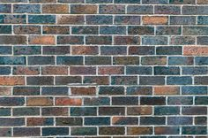brick wall background with copy space