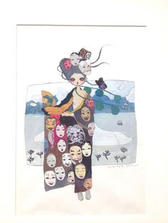 Aya Takano | Tumblr Aya Takano, Japanese Contemporary Art, Superflat, Fashion Painting, Anime Style, Asian Art, Art Forms, Cute Art, Tattoo Inspiration