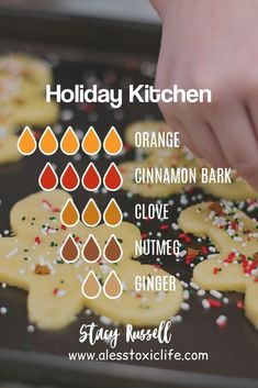 Essential Oil Diffuser Blends Fun holiday blend to make your home smell like christmas. Cookies and cakes warm the home with scents of fall and winter. Diffuser blend recipes can be your favorite essential oils like orange, cinnamon, Essential Oils Christmas, Fall Essential Oils, Essential Oil Diffuser Blends, Essential Oil Combinations, Diffuser Recipes, Perfume, Back To Nature, Young Living, Dessert