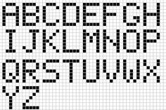 Ecrire en Pixel art - Minecraft
