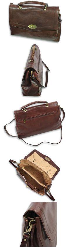 big ladies bag grote dames tas brown bruin real leather echt leer shop now at safekeepers