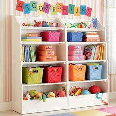 baby space : rainbow storage