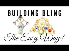 How to make bling and gem clusters! - YouTube
