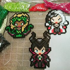 Queens of Darkness 2.0 complete. Cruella De vil, Ursula, and Malificent from Once Upon a Time by poizonazn