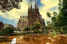 20 Spots In Europe You Must See Before You Die - Sagrada Família, Barcelona, Spain by Juan Romero Places In Europe, Oh The Places You'll Go, Great Places, Places To Travel, Beautiful Places, Places To Visit, Wonderful Places, Europe Europe, Gaudi