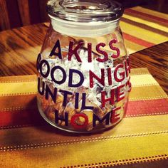 Kiss Jar for kids