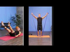 Full half-hour routine with John Garey, using TRX and Tubing Workout - YouTube