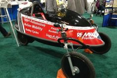 Freshman designs one-seat, three-wheeled hybrid vehicle with fuel efficiency in mind Johns Hopkins University, Maryland, Hybrid Vehicle, Baby Strollers, Fuel Efficiency, Challenges, New York, Freshman, Tech News