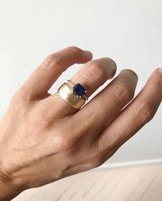 Art deco engagement ring Vintage Sapphire engagement ring White gold Unique Diamond wedding women Floral Bridal Anniversary gift for her - Fine Jewelry Ideas Jewelry Rings, Jewelry Accessories, Fine Jewelry, Gold Jewelry, Diy Rings, Emerald Jewelry, Dainty Jewelry, Diamond Jewellery, Diamond Studs