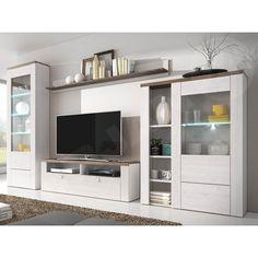 LARONA - entertainment center for 50 inch tv Entertainment Center, Modern Tv Wall Units, Furniture, Modern Furniture, House, Home, Home Decor, Living Room Furniture, Room