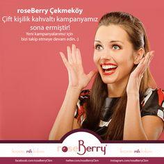 roseBerry Çekmeköy çift kişilik kahvaltı kampanyamız sona ermiştir. Kampanyamızın kazananı TC Sebnem Boz Öner olmuştur, tebrik ederiz. :)