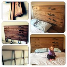 Hendrix Harlow Recycled Timber Bed Home Pinterest Living