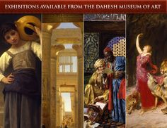 Tea Room at the Dahesh Museum in NYC