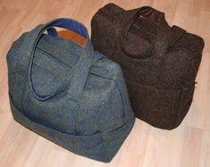 Amy Butler's Weekender Bag made in wool.