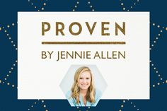 The following is an excerpt from Jennie Allen's new study,Proven.Order your copy or see a free sample today at LifeWay.com/Proven. You can also pick up a copy at your local LifeWay Store! When Jesus promises us rest, He is almost always talking about soul rest. It's why all the ways we try to rest our …