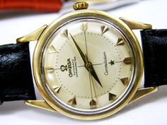 A vintage Omega Constellation. I LOVE these watches. They're works of art.