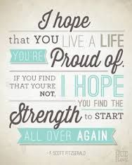 Image result for live a life you're proud of