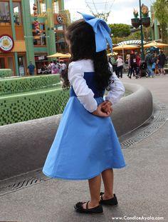 Ariel The Littler Mermaid Blue Dress - Kiss the Girl Dress - DIY - Ariel Inspired