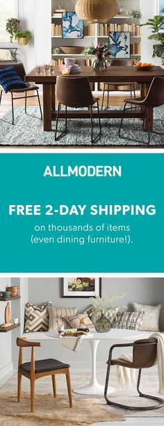 Dining Room - Sign up now for FREE SHIPPING on orders over $49 at allmodern.com!