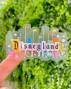Vintage Disneyland Floral Sign Transparent Laptop Sticker/ | Etsy Disneyland Sign, Disneyland Birthday, Vintage Disneyland, Disneyland Ideas, Food Stickers, Laptop Stickers, Cute Stickers, Disney Food, Baby Disney