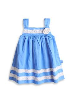 Pumpkin Patch kids fashion spring/summer collection 2013 cloony lace trim dress