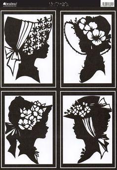 silhouette cutting paper cuts scherrenschnitte