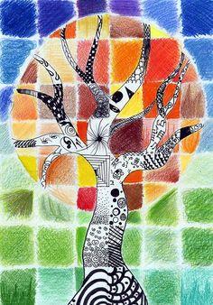 6th grade art | Johanna, 6th grade | Flickr - Photo Sharing!