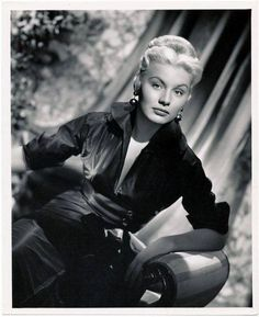 Barbara Payton born Barbara Lee Redfield in Cloquet, Minnesota (November 16, 1927 – May 8, 1967) was an American film actress. Her brief career was overshadowed by her tempestuous social and personal life along with her eventual battle with alcohol and drug addiction. It ultimately damaged her credibility as a serious actress and ended her career in Hollywood.