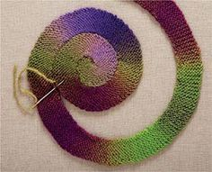 hand-made-knitting-crochet: Nicky Epstein. Knitting in Circles