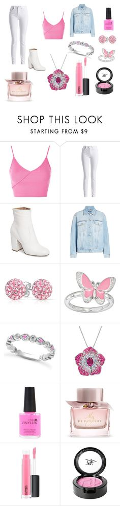 """""""Lilyanna Diagon alley Wand"""" by lilyheart-637 ❤ liked on Polyvore featuring Topshop, Barbour International, Steve Madden, Alexander McQueen, Bling Jewelry, Stacks and Stones, Allurez, Amanda Rose Collection, CND and Burberry"""