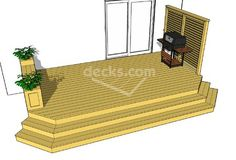 218 sf deck 18'x10', 14 sizes are available to download and are completely free!!