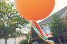 love a big balloon, but w ribbon? fuhgettaboutit