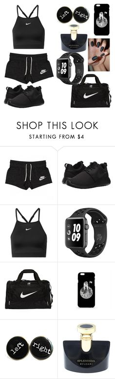 """Untitled #108"" by neonlover1231 ❤ liked on Polyvore featuring NIKE and Bulgari"