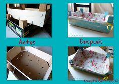 DIY Fruit box recicle