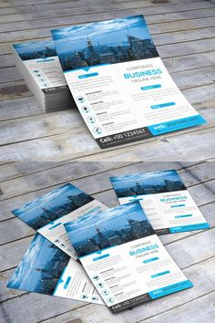 Corporate Flyer. Flyer Templates