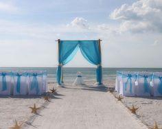 Suncoast Weddings present tantalizing turquoise for the perfect Florida beach wedding