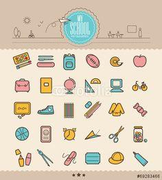 school, icon, pictogramme
